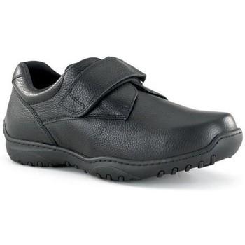 Sapatos Homem Sapatos Calzamedi ZAPATO CON VELCRO ANCHO 20 COMODO M NEGRO