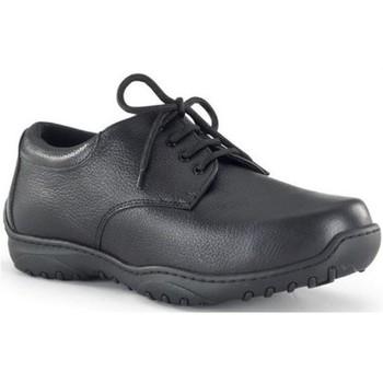 Sapatos Homem Richelieu Calzamedi ORTOPEDICO ANCHO 20 DIABETICO M NEGRO