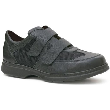 Sapatos Homem Sapatos Calzamedi ZAPATO DOBLE VELCRO COMODO DIABETICO H NEGRO