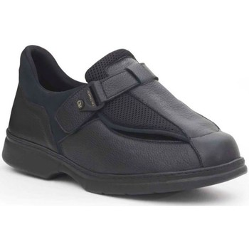 Sapatos Homem Mocassins Calzamedi ESPECIAL EMPEINES ANCHOS PIE DIABETICO NEGRO