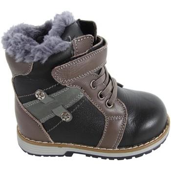 Sapatos Rapaz Botas de neve Happy Bee B164088-B1392 Negro