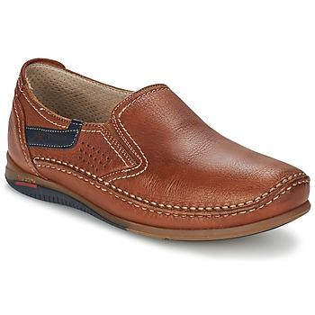 Sapatos Homem Slip on Fluchos CATAMARAN Castanho