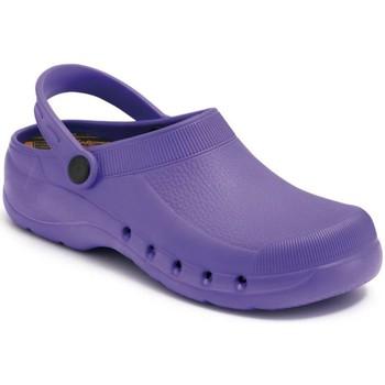 Sapatos Tamancos Calzamedi ZUECO SANITARIO PVC COMODO Y ANATOMICO UNISEX MORADO