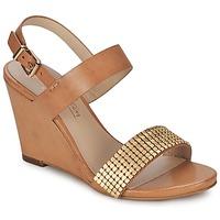 Sapatos Mulher Sandálias JB Martin 1OLE Camel / Dourado