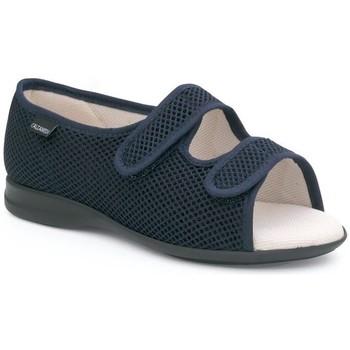 Sapatos Mulher Chinelos Calzamedi S TELA AZUL