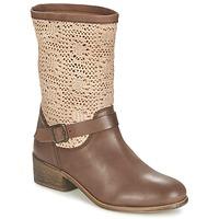 Sapatos Mulher Botas baixas Betty London CASTAGNO Castanho