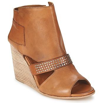Sapatos Mulher Botins OXS SPORT-320 Castanho
