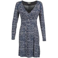 Textil Mulher Vestidos curtos Cream OMAGA Azul