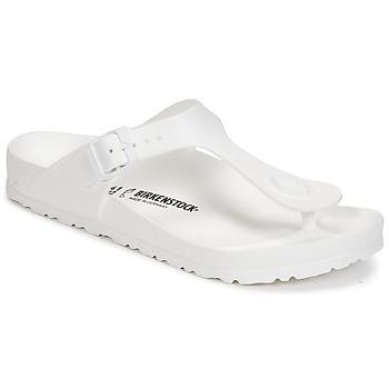 Sapatos Mulher Chinelos Birkenstock GIZEH EVA Branco