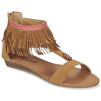 Sapatos Mulher Sandálias Refresh CONNELL Camel