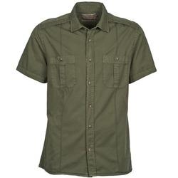 Textil Homem Camisas mangas curtas Chevignon C MILITARY TWIL Verde