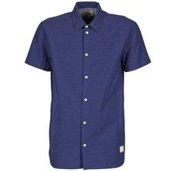 Textil Homem Camisas mangas curtas Suit DAN S Azul