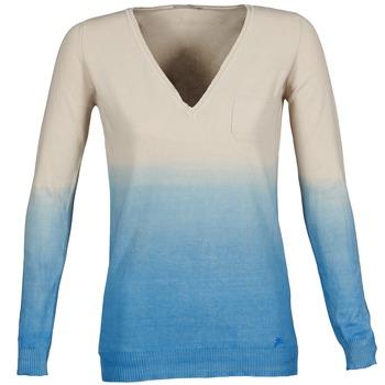 Textil Mulher camisolas Gas DESHI Bege / Azul
