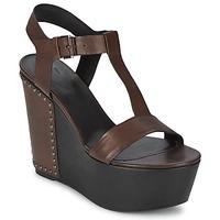 Sapatos Mulher Sandálias Vic GIBSON Castanho