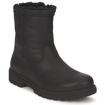 Sapatos Homem Botas baixas Panama Jack FORRO PELO Preto