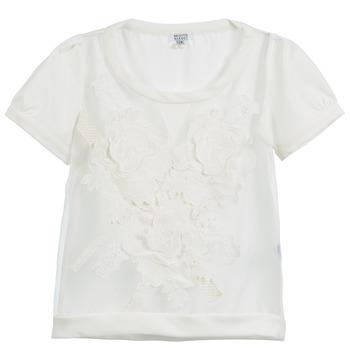 Textil Mulher Tops / Blusas Brigitte Bardot BB44160 Marfim