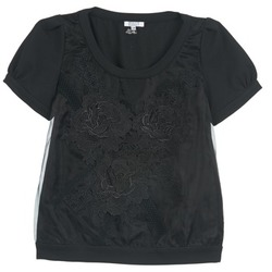 Textil Mulher Tops / Blusas Brigitte Bardot BB44160 Preto