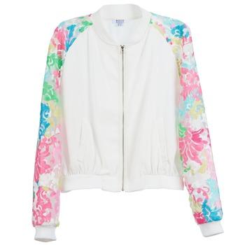 Textil Mulher Casacos  Brigitte Bardot BB44045 Branco / Multicolor
