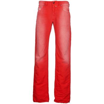 Textil Homem Calças Jeans Diesel SAFADO Vermelho