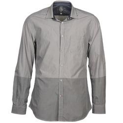 Textil Homem Camisas mangas comprida Diesel SAUSAN Cinza