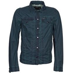 Textil Homem casacos de ganga Diesel J-XOCHILL Marinho