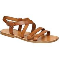 Sapatos Homem Sandálias Gianluca - L'artigiano Del Cuoio 531 U CUOIO CUOIO Cuoio