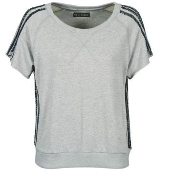 Textil Mulher T-Shirt mangas curtas Religion B114HRW02 Cinza