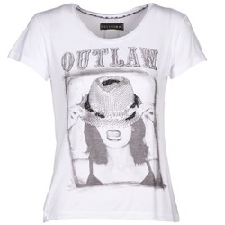 Textil Mulher T-Shirt mangas curtas Religion B123OLT45 Branco
