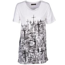 Textil Mulher T-Shirt mangas curtas Religion B123CND13 Branco