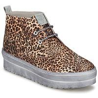 Sapatos Mulher Sapatilhas de cano-alto Ylati BAIA F Leopardo