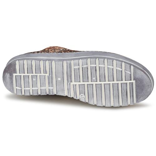 Ylati BAIA F Leopardo - Entrega gratuita  - Sapatos Sapatilhas de cano-alto Mulher 14800