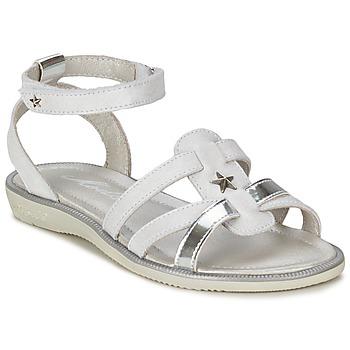 Sapatos Rapariga Sandálias Mod'8 HOPAL Branco