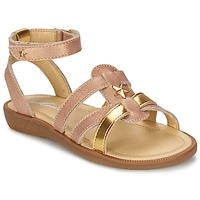 Sapatos Rapariga Sandálias Mod'8 HOPAL Rosa