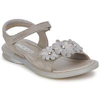 Sapatos Rapariga Sandálias Mod'8 JUKA Prateado