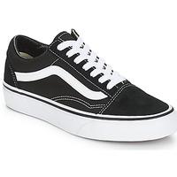 Sapatos Sapatilhas Vans OLD SKOOL Preto / Branco