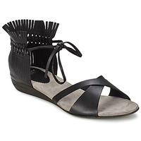 Sapatos Mulher Sandálias Fru.it TRIVENTA Preto