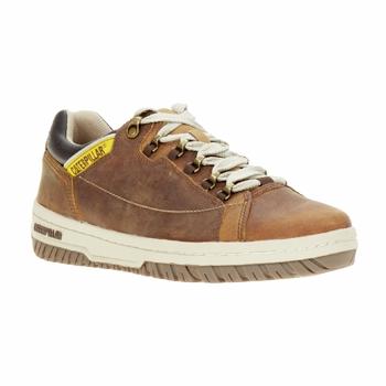 Sapatos Homem Sapatilhas Caterpillar APA Castanho