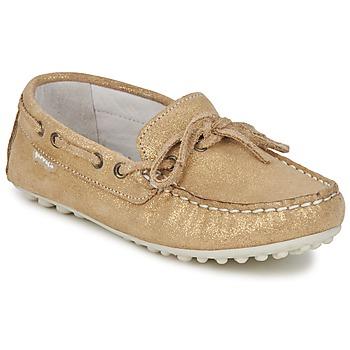 Sapatos Rapariga Mocassins Garvalin KIOWA JUVENIL Ouro