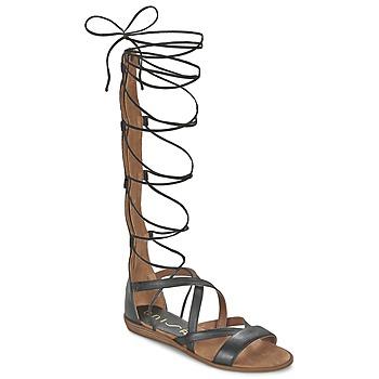 Sapatos Mulher Sandálias Unisa ANDA Preto