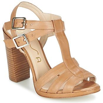 Sapatos Mulher Sandálias Unisa YUM Bege