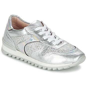 Sapatos Mulher Sapatilhas Unisa DALTON Prateado / Branco
