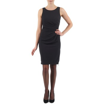 Textil Mulher Vestidos curtos Esprit BEVERLY CREPE Preto