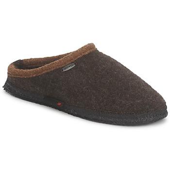 Sapatos Homem Chinelos Giesswein DANNHEIM Castanho