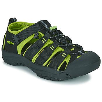 Sapatos Criança Sandálias desportivas Keen KIDS NEWPORT H2 Preto / Verde