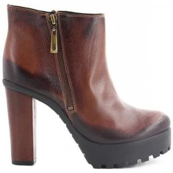 Sapatos Mulher Botins Schutz Botas Castanho