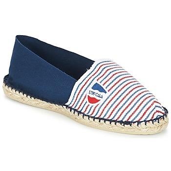Sapatos Alpargatas 1789 Cala CLASSIQUE BICOLORE Azul / Branco / Vermelho