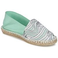 Sapatos Mulher Alpargatas 1789 Cala CLASSIQUE IMPRIMEE água / Branco