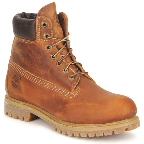 Sapatos Homem Botas baixas Timberland HERITAGE 6 IN PREMIUM Castanho