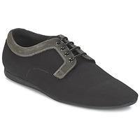 Sapatos Homem Sapatos Schmoove FIDJI CLUB Preto / Cinza