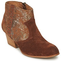 Sapatos Mulher Botins Schmoove WHISPER VEGAS Castanho / Glitter